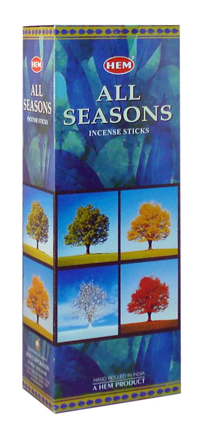 HEM Wierook All Seasons (6 pakjes)