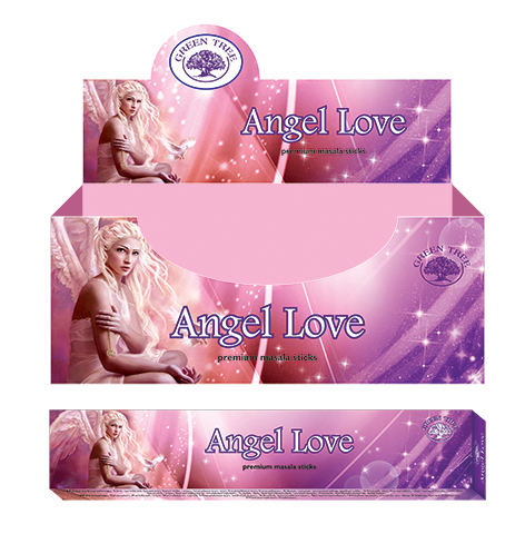 Green Tree Wierook Angel Love (12 pakjes)