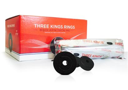 Three Kings Houtskool (40 x 80 mm)
