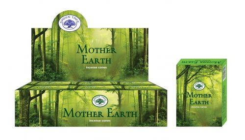 Green Tree Wierook Kegel Mother Earth (12 pakjes)