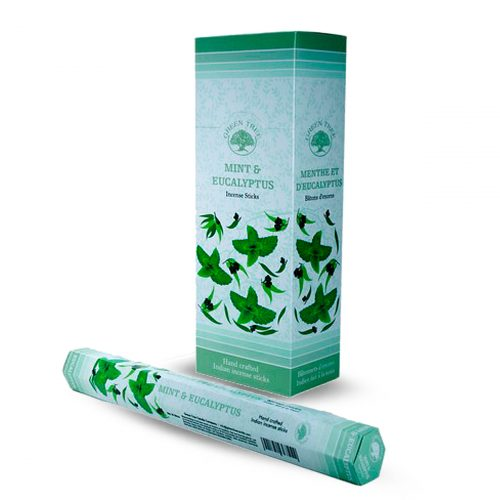 Green Tree Wierook Mint and Eucalyptus (6 pakjes)