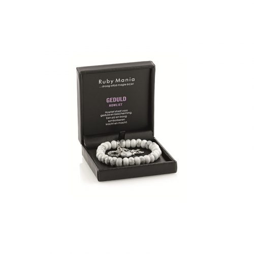 Ruby Mania Armband Howliet Rond (Model 5)