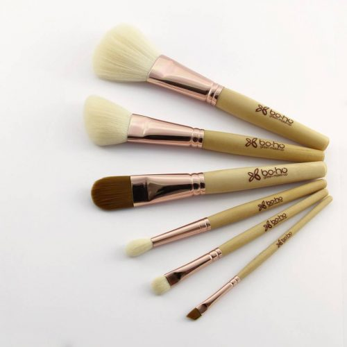 Boho Vegan Oogschaduw Brush - Schuine Top