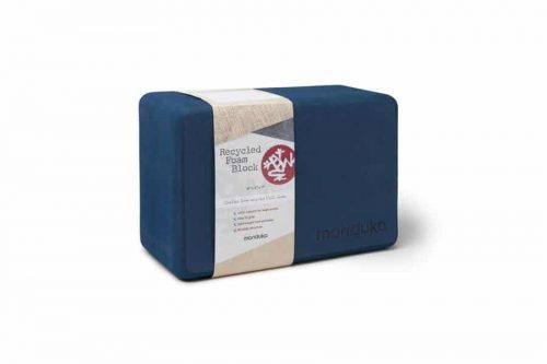 Manduka UpHold Yoga Blok - Schuim Recycled - Midnight
