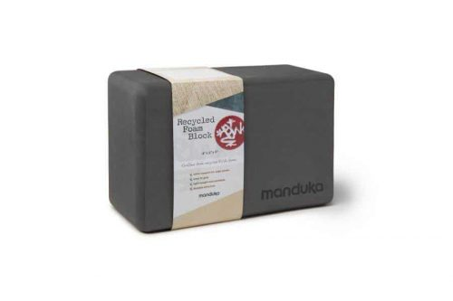 Manduka UpHold Yoga Blok - Schuim Recycled - Thunder