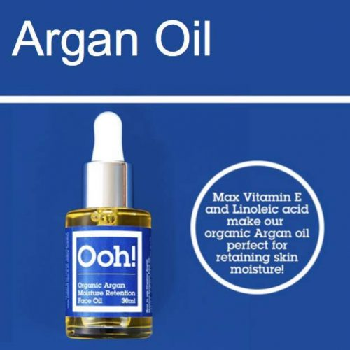 Oils of Heaven Vegan Organic Argan Moisture Retention Face Oil