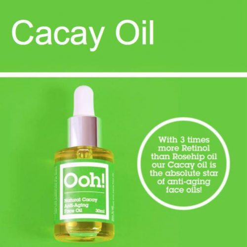 Oils of Heaven Vegan Heaven Natural Cacay Anti-Aging Face Oil