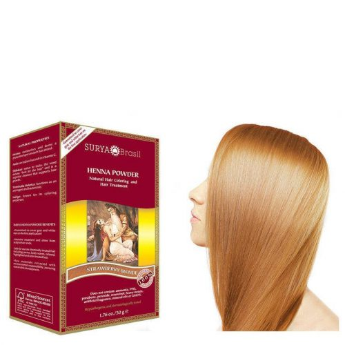 Surya Brasil Vegan Haarverf Powder Strawberry Blonde