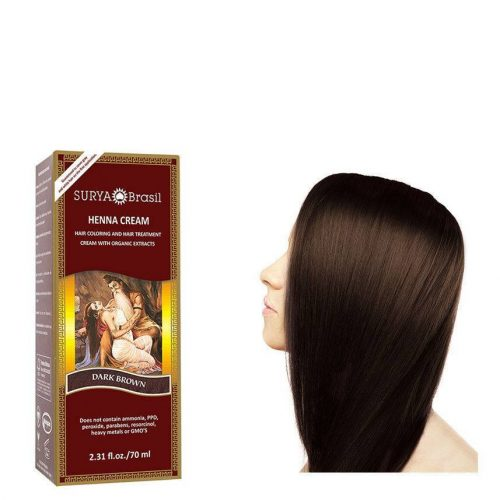 Surya Brasil Vegan Haarverf Cream Dark Brown