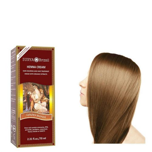 Surya Brasil Vegan Haarverf Cream Golden Blonde