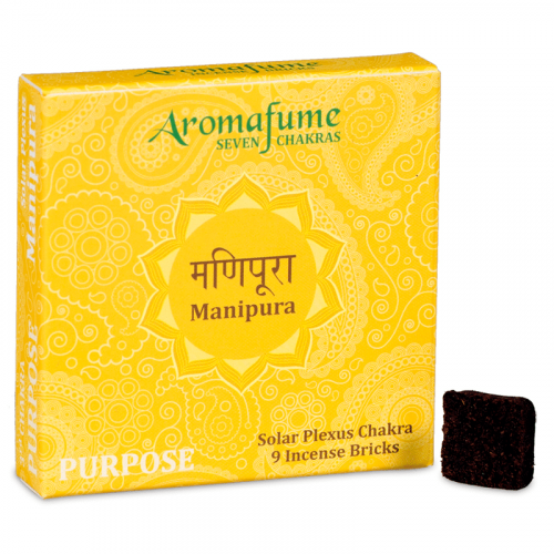Aromafume Wierookblokjes Manipura - Solar Plexis Chakra