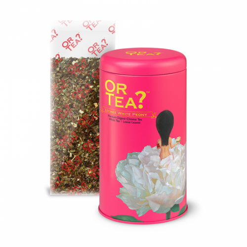 Or Tea Lychee White Peony Witte Thee Lychee Los