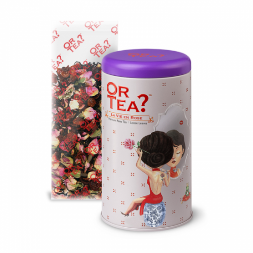 Or Tea La Vie en Rose Zwarte Thee Roos Los