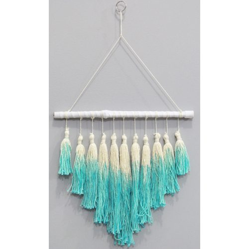 Mobile Kwasten Ombre Turquoise