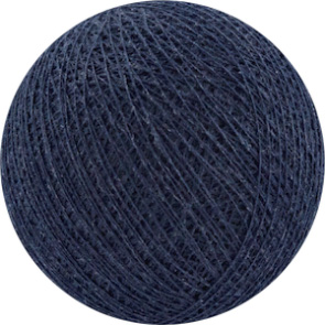 25 losse Cotton Ball's (Donkerblauw)