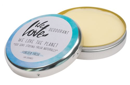 We Love The Planet Natuurlijke Deodorant Crème Forever Fresh