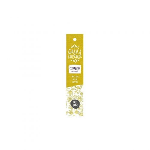 Gaia's Incense Fare Trade Wierook Citronella
