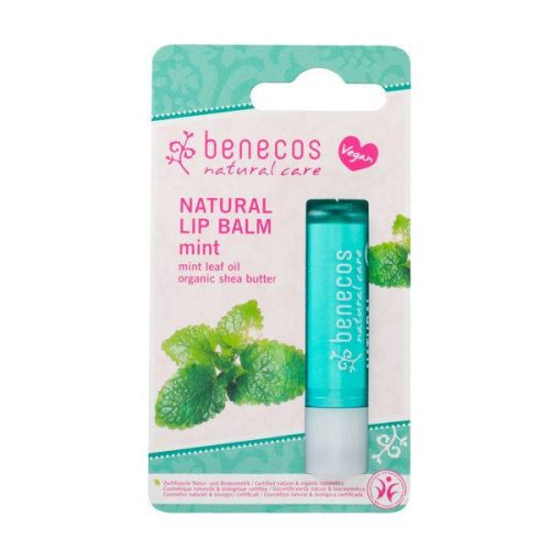 Benecos Natural Vegan Lipbalm - Mint
