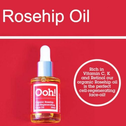 Oils of Heaven Vegan Organic Rosehip Cell-Regenerating Face Oil