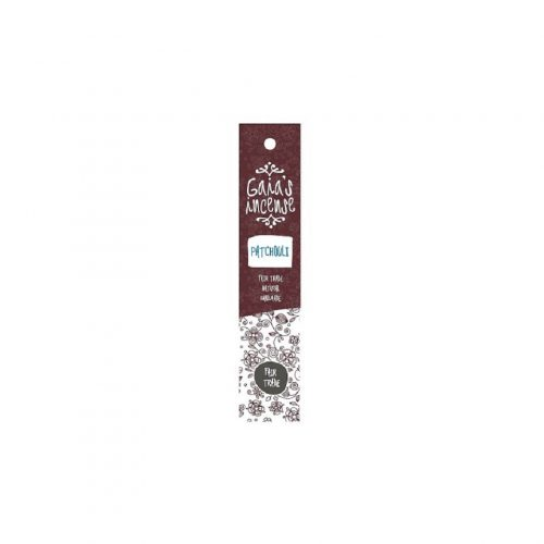 Gaia's Incense Fare Trade Wierook Patchouli