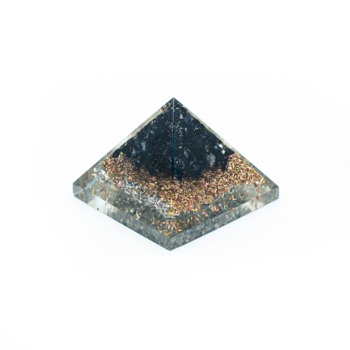 Orgonite Piramide Mini Zwarte Toermalijn (25 mm)