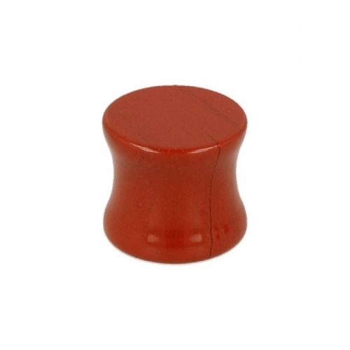 Plug Oorpiercing Jaspis Rood (12 mm)