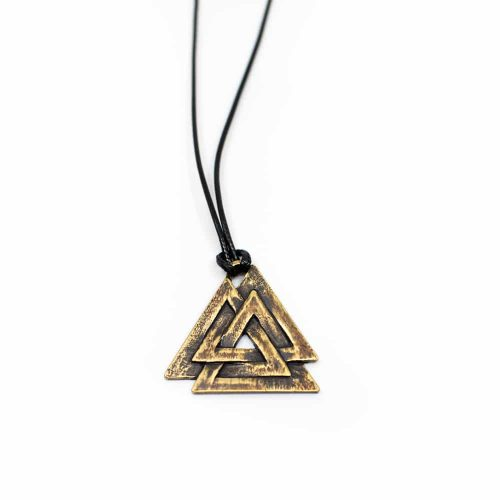 Viking Hanger Valknut Authentiek