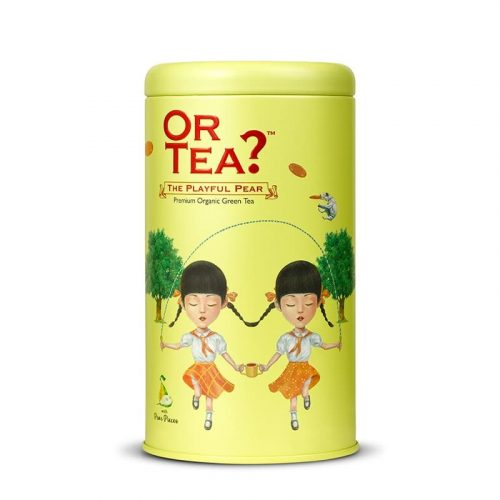 Or Tea? The Playful Pear Groene Thee Los BIO