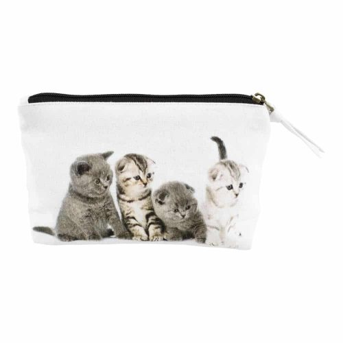 Make-up Tasje Britse Korthaar Kittens (20 x 12 cm)