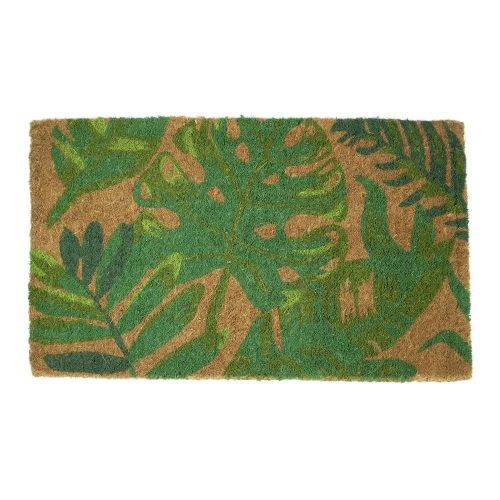 Kokosmat Handgeweven Monstera (75 x 45 cm)