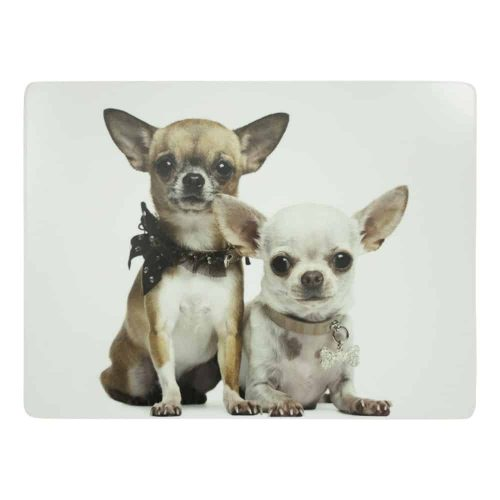 Luxe Placemats Chihuahua's (Set van 4)