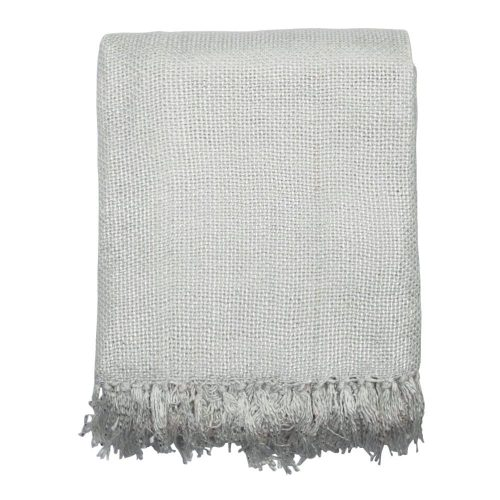 Katoenen Kleed Gypsy Throw Wit (180 x 130 cm)