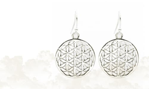 Flower of Life Oorbellen