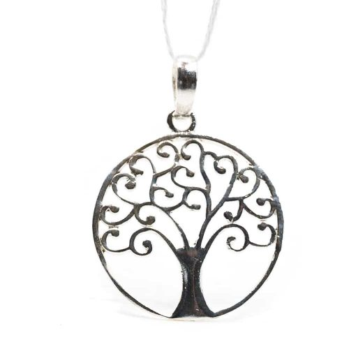 Hanger Tree of Life 925 Zilver (20 mm)